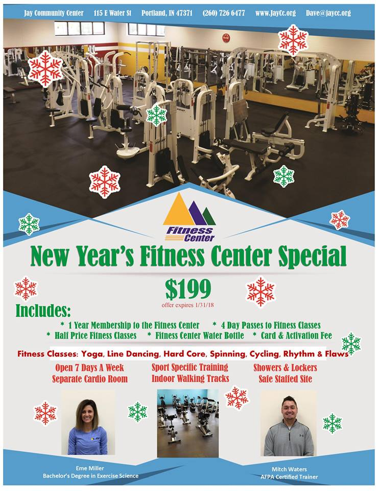 New Years Fitness Special