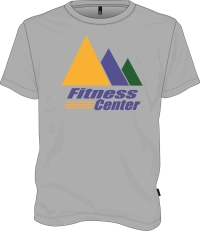 Heather Gray JCC Fitness T-shirt