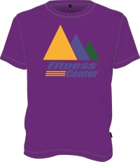 Purple JCC Fitness T-shirt