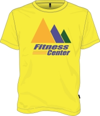 Saftety Yellow JCC Fitness T-shirt